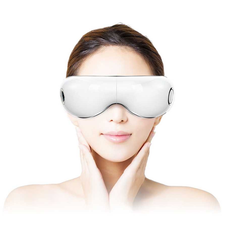 Eye Massage Glasses Electric Air Pressure Eyes Massager Music Wireless Smart Heated Goggles Anti Wrinkles Care