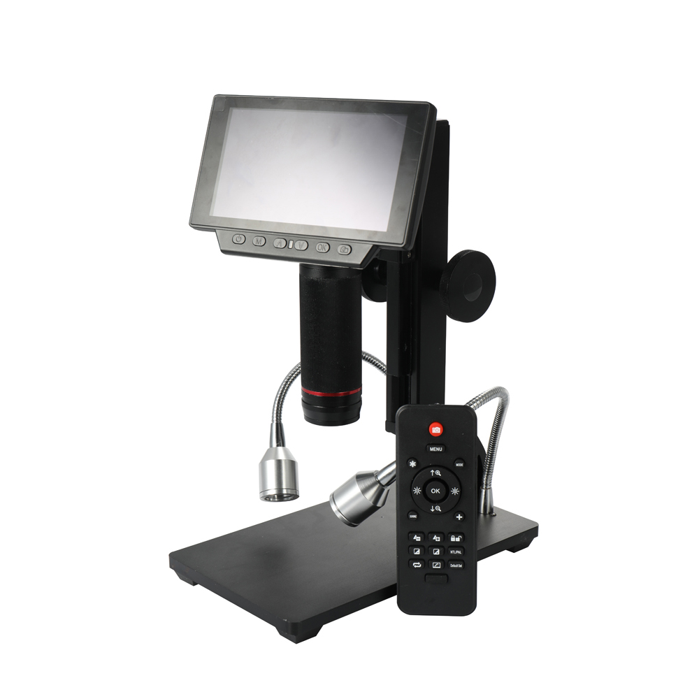 ADSM302 Industrial Maintenance Digital Display Electronic Microscope Magnifier with Remote Control