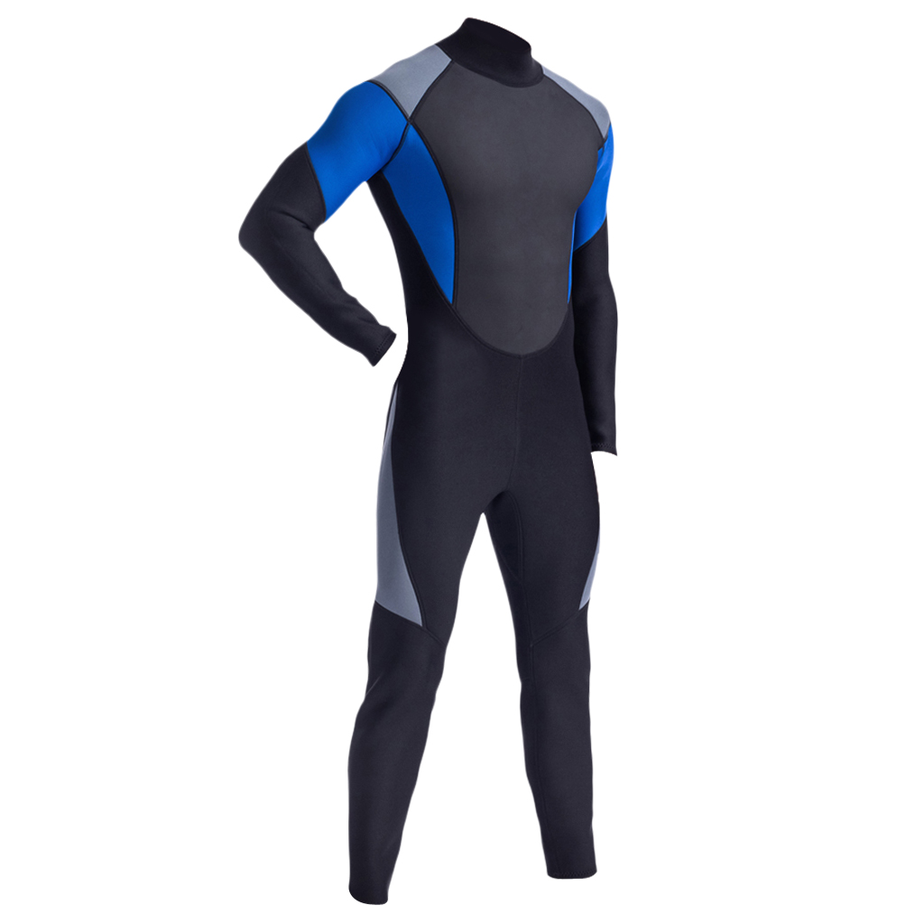 Wetsuits Mens 3mm Neoprene Full Body Dive Skins Winter Swimming Kayaking Snorkeling Surfing Diving Suit Wet Suit in Wetsuit from Sports Entertainment