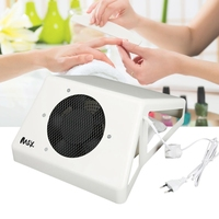 4 Types Strong Power Nail Art Dust Collector Nail Dust Suction Cleaner Machine with Fan