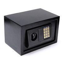 Digital Electronic Safe Box Q235B Steel Plate Keypad Lock Wall Security Cash Jewelry Hotel Cabinet Safes