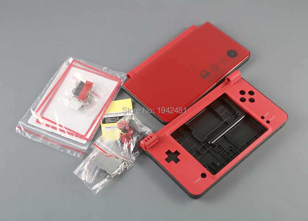 Colorful Complete Full Housing Shell Case For Nintend NDSi XL/LL Console Shell  Case With Screen Lens Button Kits For NDSIXL LL