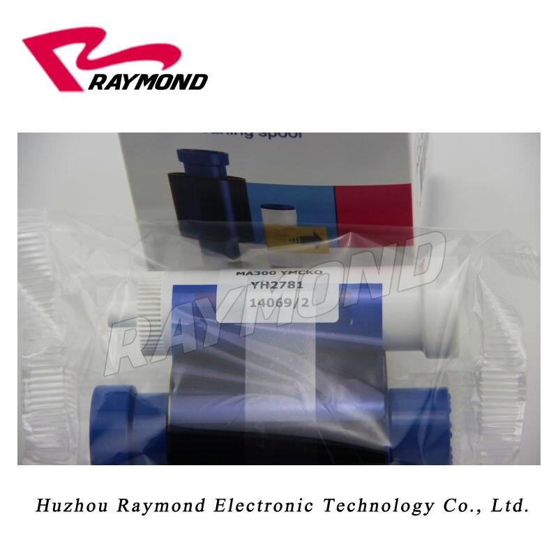 Ma300Ymcko Color Ribbon For Magicard Card Printer Enduro Id Card printer