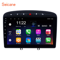 Seicane Android 8.1 Car Multimedia player 2Din For 2010 2011 2012 2013 2014 2015 2016 PEUGEOT 408 Radio GPS Support OBD2 WiFi