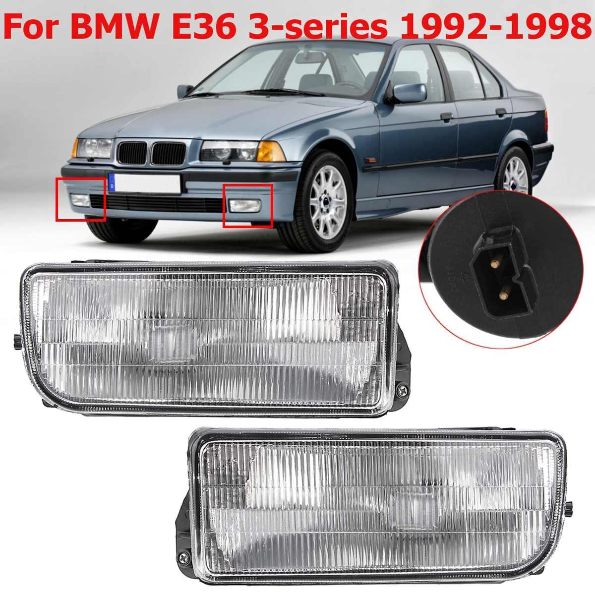 For BMW E36 M3 3-Series 1992-1998 2pcs//Set Car Front Fog Light Bumper Fog Lamp