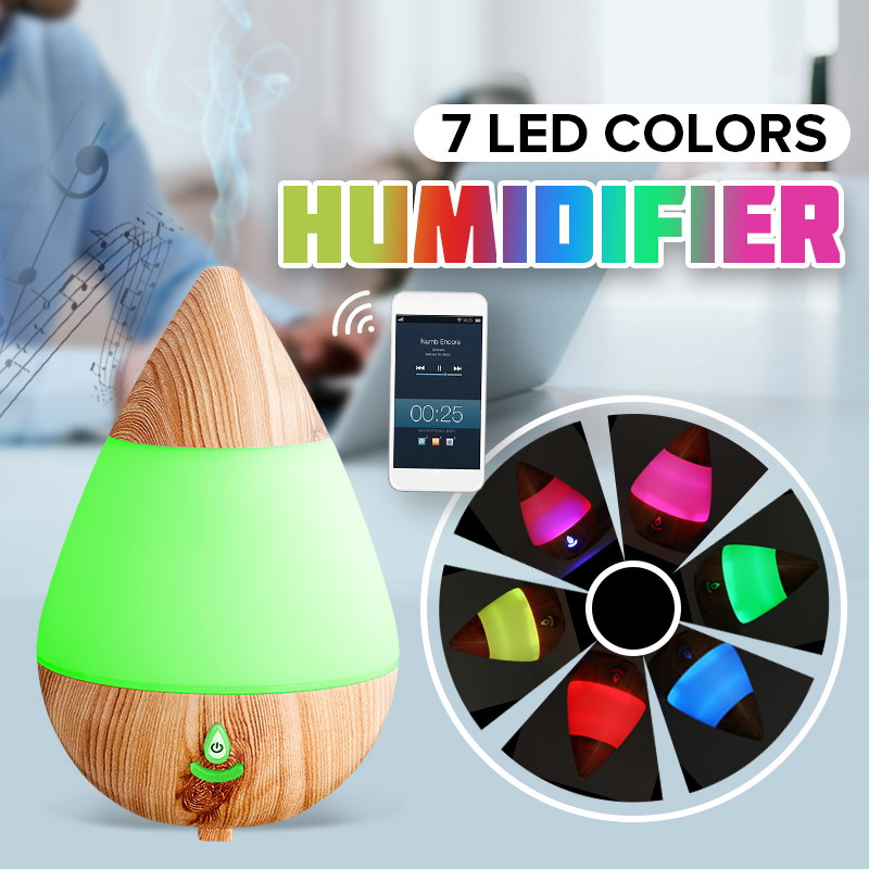 Air Purifier LED Essential Oil Aromatherapy Machine USB for Aroma Humidifier Smart bluetooth Audio Colorful LED Night LightsAir Purifier LED Essential Oil Aromatherapy Machine USB for Aroma Humidifier Smart bluetooth Audio Colorful LED Night Lights
