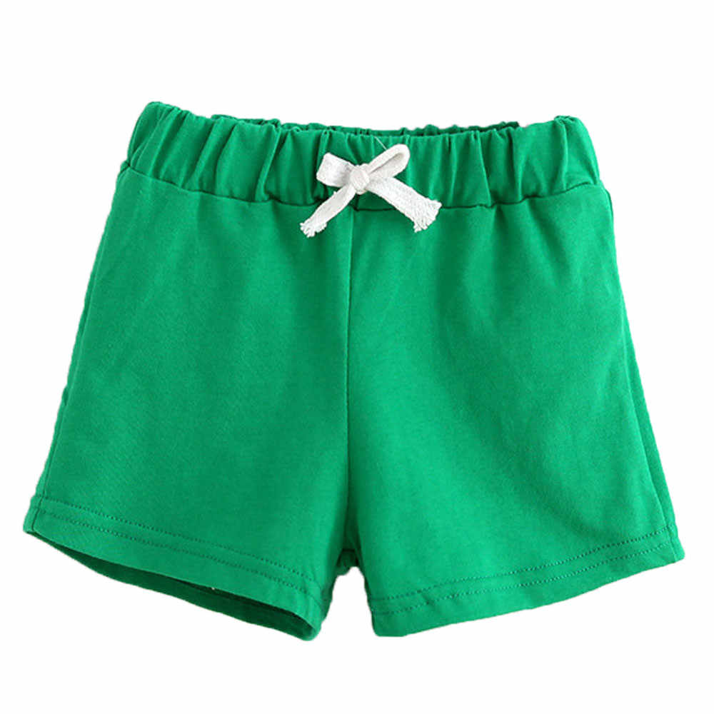 2019 New Shorts For Girls Fashion Summer Children Cotton Shorts  Boys Girl Home Clothes Toddler Kids Beach Short Sports Pants 5