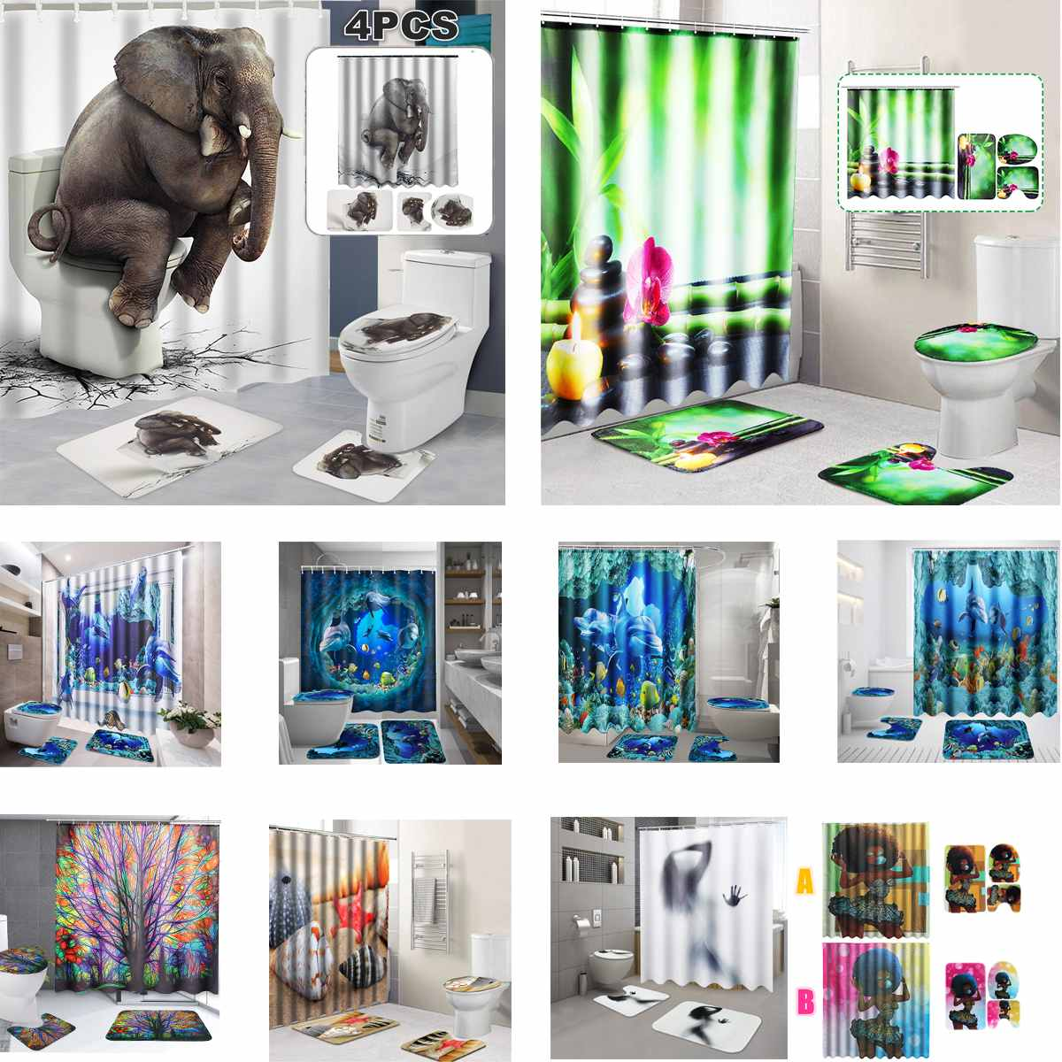 Shower Curtains Nice Charmhome White Swans And Roses Pattern Mildew Resistant Polyester Fabric Shower Curtain Set With Hooks Bathroom Accessories Warm And Windproof Home & Garden