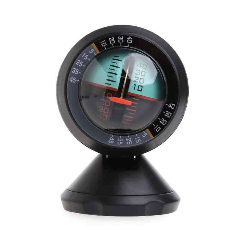 Car Inclinometer Decoration Multifunction Measure Tool Vehicle Balance Slope