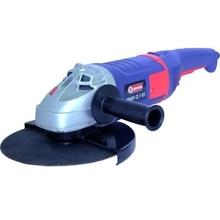 Машина шлифовальная угловая Диолд МШУ-2,1-01-230 (Мощность 2100 Вт, 0-6500 об/мин холостого хода, диск 230 мм, плавный пуск)