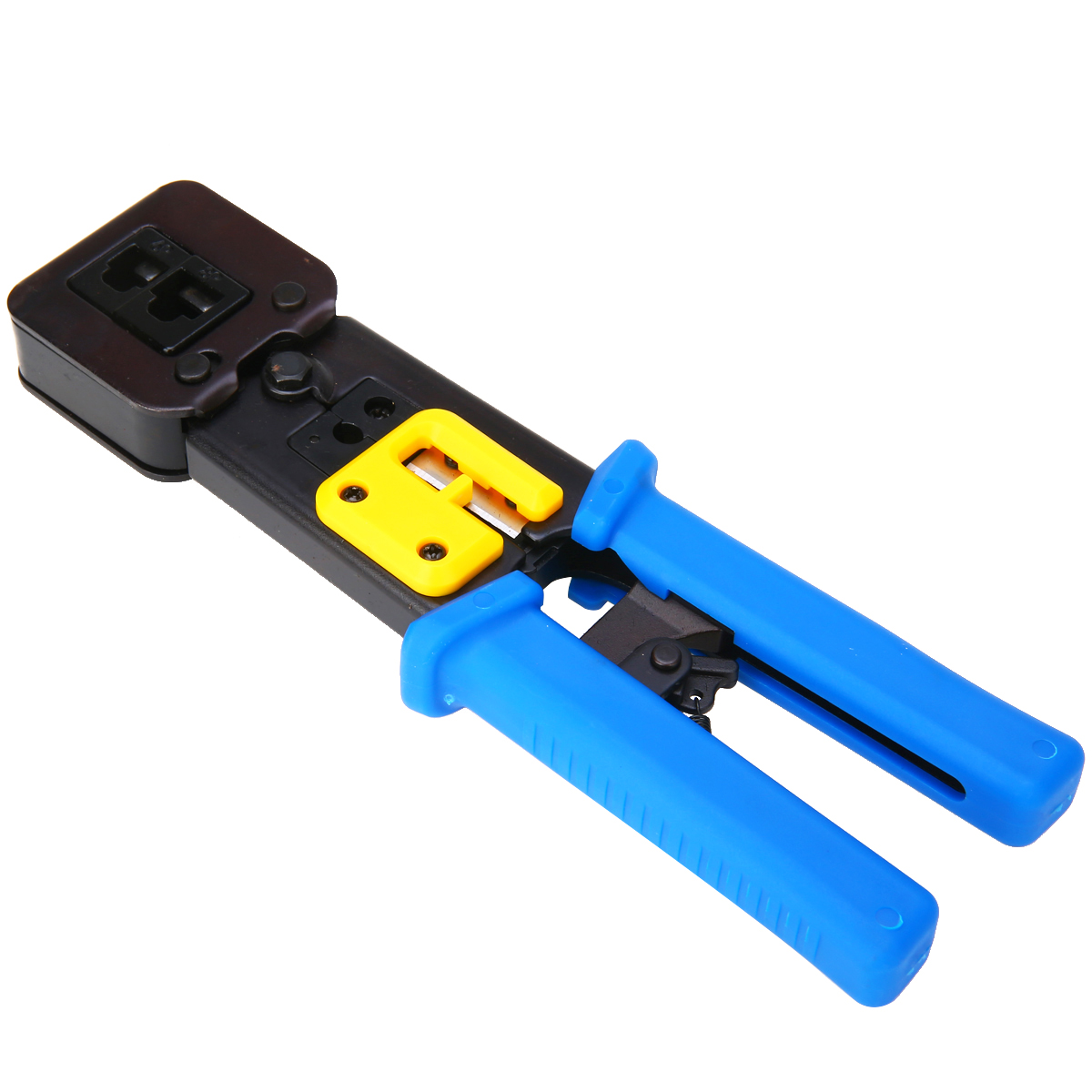 Mayitr Network Clamp Crimper Tools for Cat5e Cat6 Cables RJ45 RJ11 Connector Plugs Crimping Tool Net Cutter Crystal Head FriezeMayitr Network Clamp Crimper Tools for Cat5e Cat6 Cables RJ45 RJ11 Connector Plugs Crimping Tool Net Cutter Crystal Head Frieze