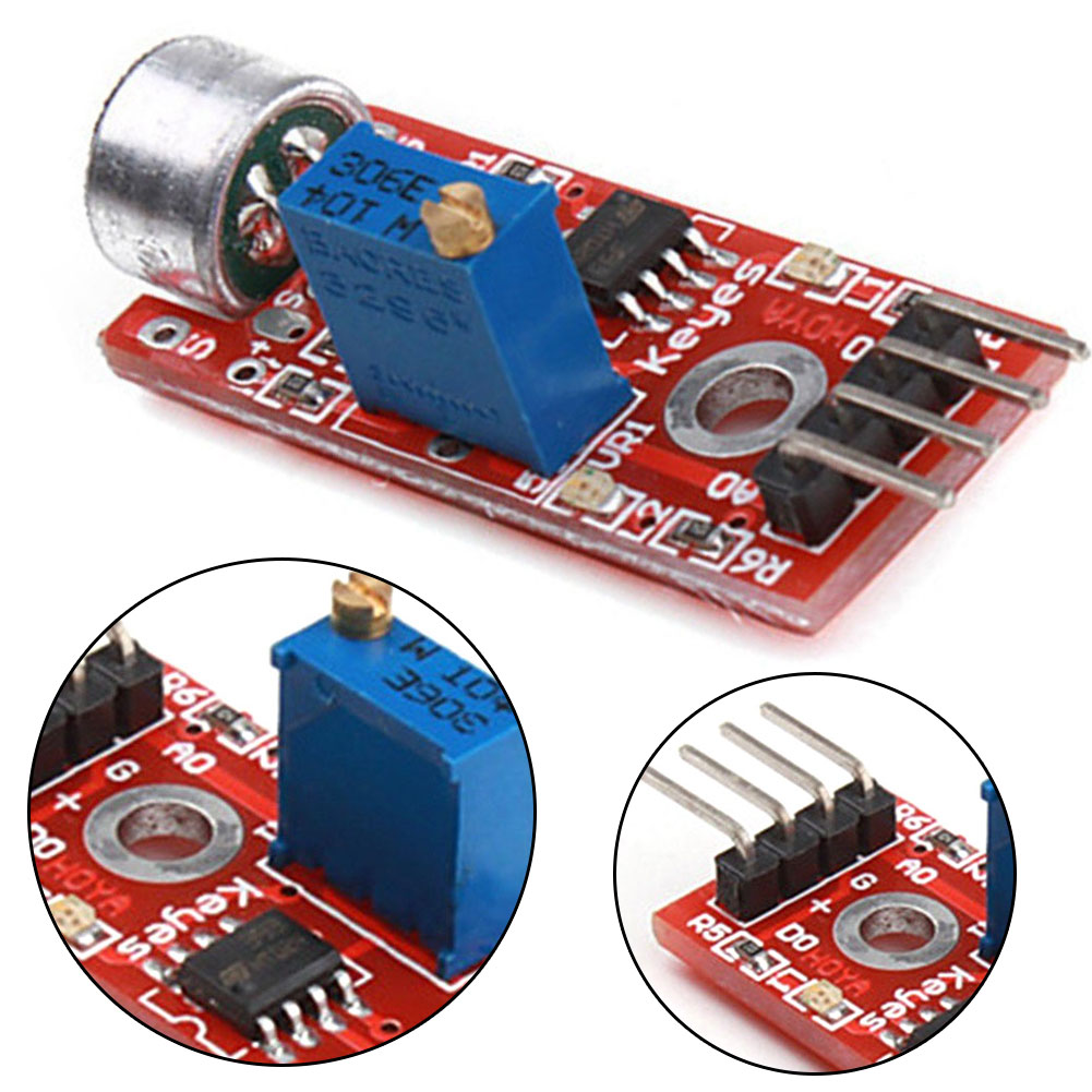 Microphone Amplifier Module High Quality Microphone Sensor AVR PIC High Sensitivity Sound Detection Module Accessory