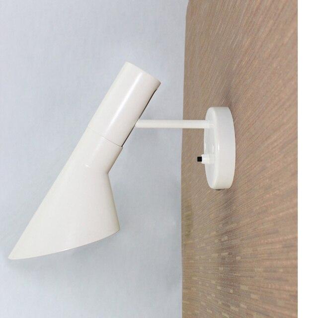 design lamps modern sconce replica lamp creative led bedroom wall lights e14 white/black wall lamp