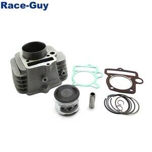 Image 4 - Yx140 cilindro do motor 56mm, junta de pistão para yx 140cc pit, dirt bike, óleo, refrigerado, motor › 150cc