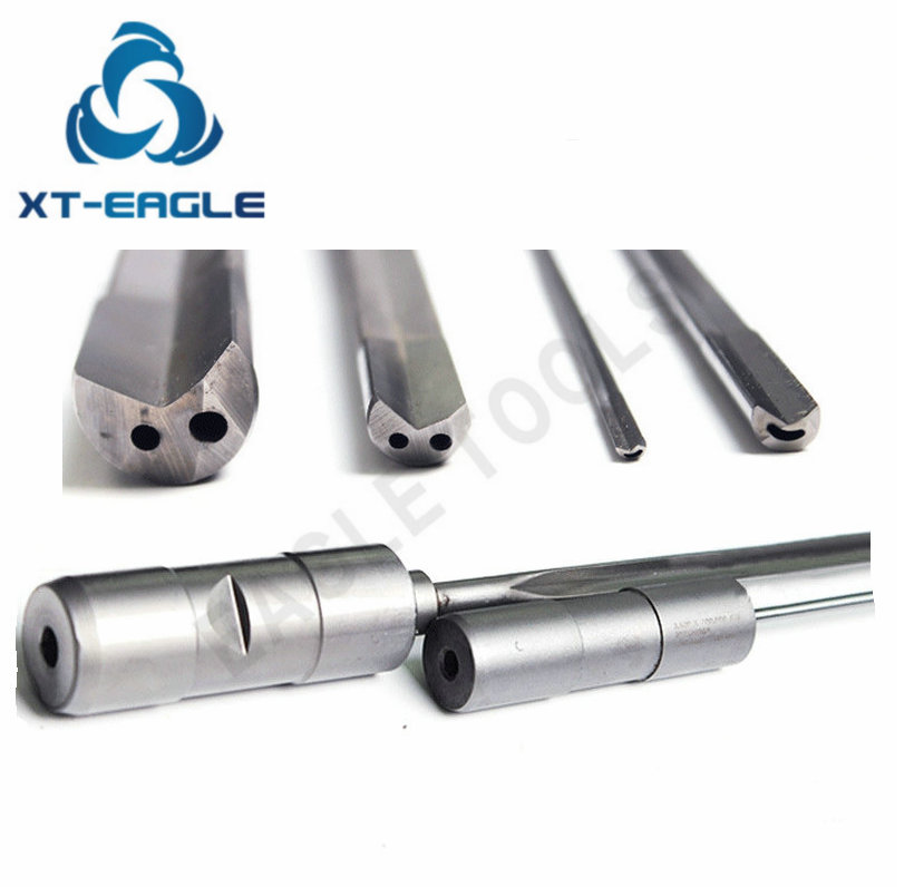 Dia 7 62mm 800mm Overall Length Carbide Tip Gun Drill for Deep Hole Drilling Bit