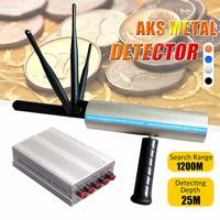AKS Detective Professtional Underground Handhold 3D Pro Metal/Gold/Gems Detector Adjustable Long Range Diamond Finder Tracker
