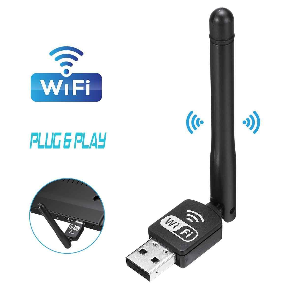 Mini WiFi TV Antena Interna Wifi Receiver para a Televisão Digital DVB T2  DVB T TV HDTV Projetor de Desktop Portátil com Porta USB Antena de TV  -  AliExpress