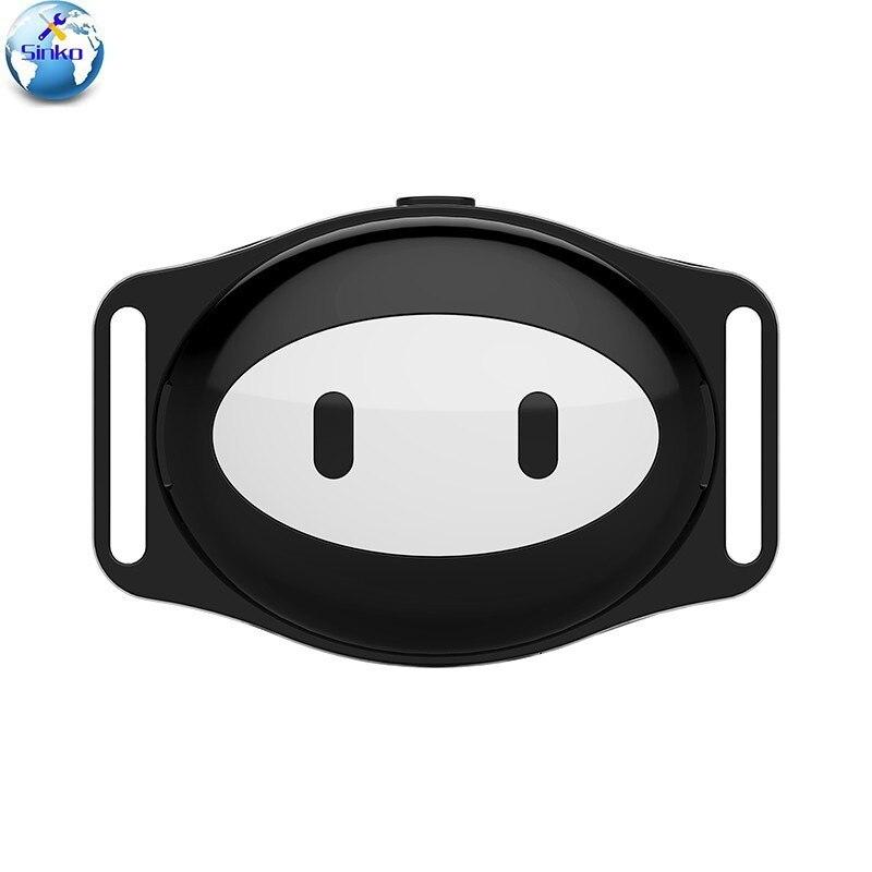 MiNi collier imperméable de localisateur de traqueur de GPS d'animal familier GSM pour le chat de chien