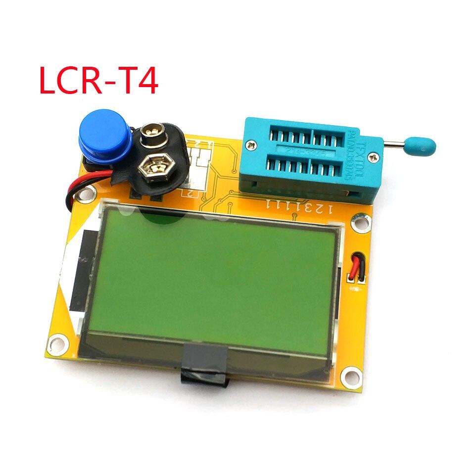 Mega328 M328 LCR-T4 12846 LCD Digital Transistor Tester Meter Backlight Diode Triode Capacitance ESR Meter MOS/PNP/NPN L