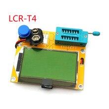 Mega328 M328 LCR T4 12846 LCD الرقمية تستر متر الخلفية صمام ثنائي ثلاثي المسار السعة ESR متر MOS/PNP/NPN L