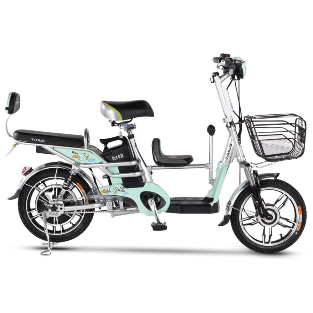 16 pouces 48 V batterie au Lithium vélo électrique siège enfant-enfant vélo électrique ville extérieure Scooter électrique vélo