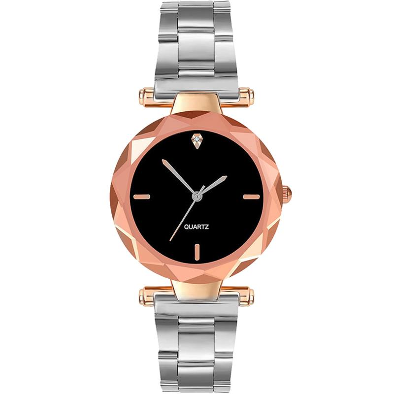 Shaarms New Fashion Women  Watches Exquisite Stainless Steel Strap Watches Ladies Casual Dress Quartz Wristwatch Reloj Mujer