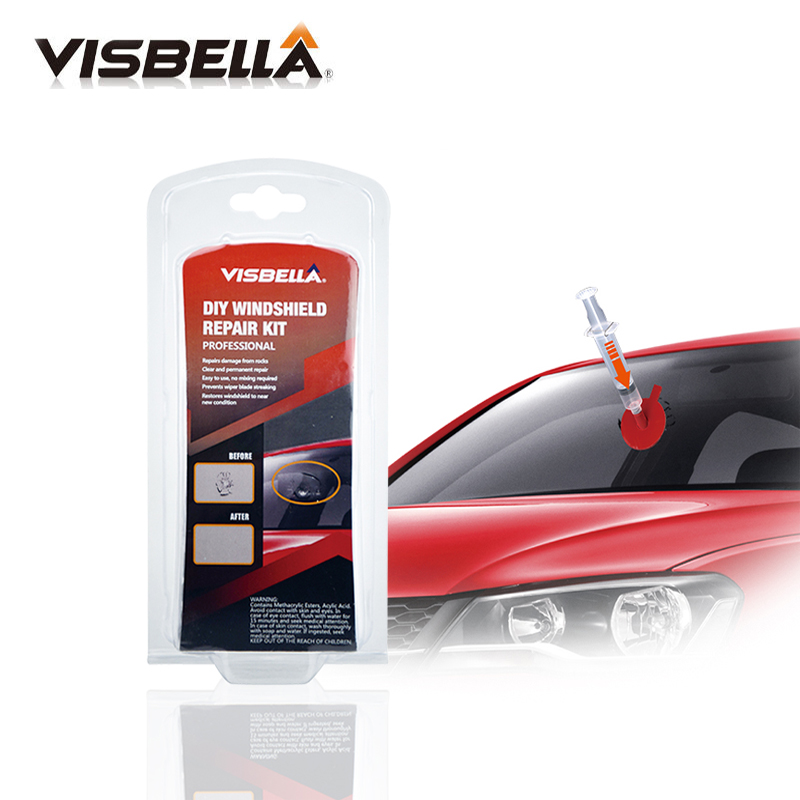 Glue for Windshield cracks Repair Auto glass breaks repair tools windshield kit Quick Dry Adhesive
