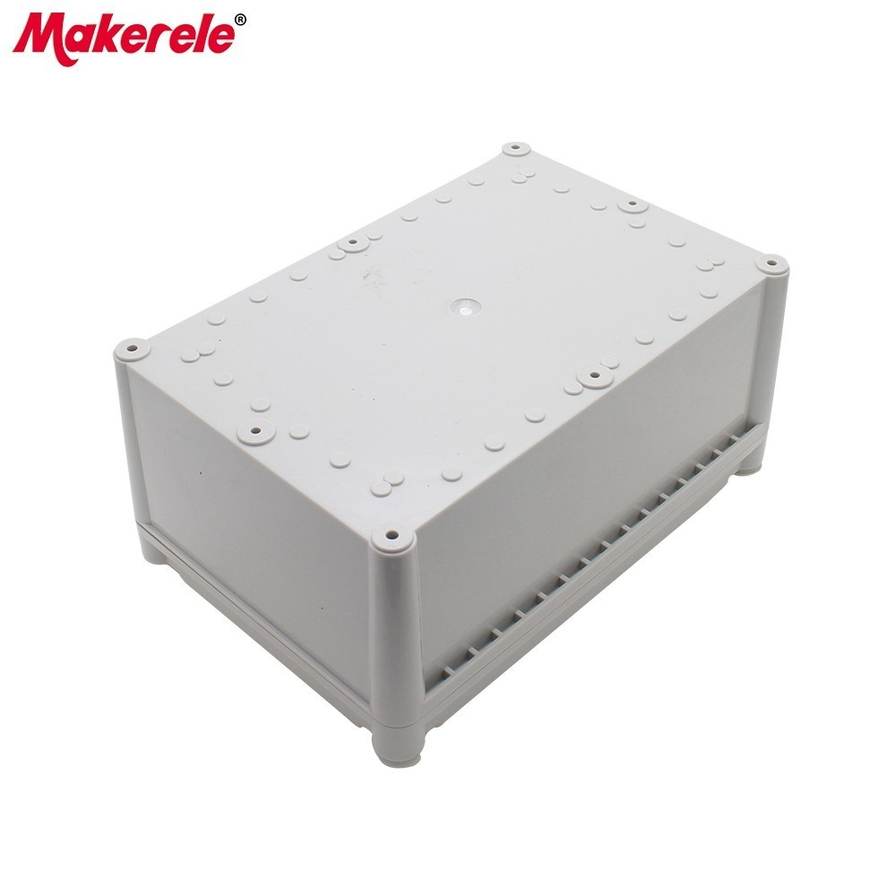 Waterproof Junction Box Enclosure ABS Material IP65 Exterior Electrical Box Outside Junction Box Weatherproof Connection Box aluminum exterior electrical enclosure outdoor waterproof use for electronics pcb box connection junction box project case