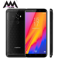 Homtom S99 Android 8.0 Smartphone 6200mAh 4GB RAM 64GB ROM MT6750 Octa Core cell phonws 5.5 18:9 Screen Face ID Mobile Phone