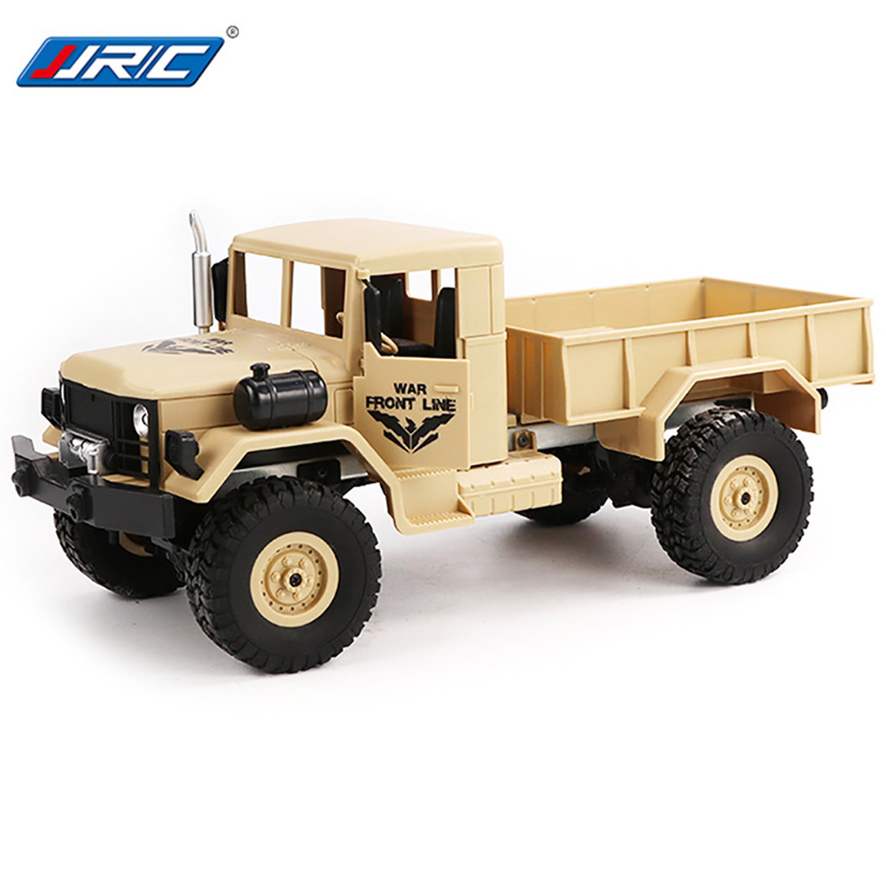 JJR/C JJRC Q62 1/16 2.G 4WD Off Road Military Trunk Crawler RC Car Remote Control Off Road Toys Boys Birthday Christmas Gifts
