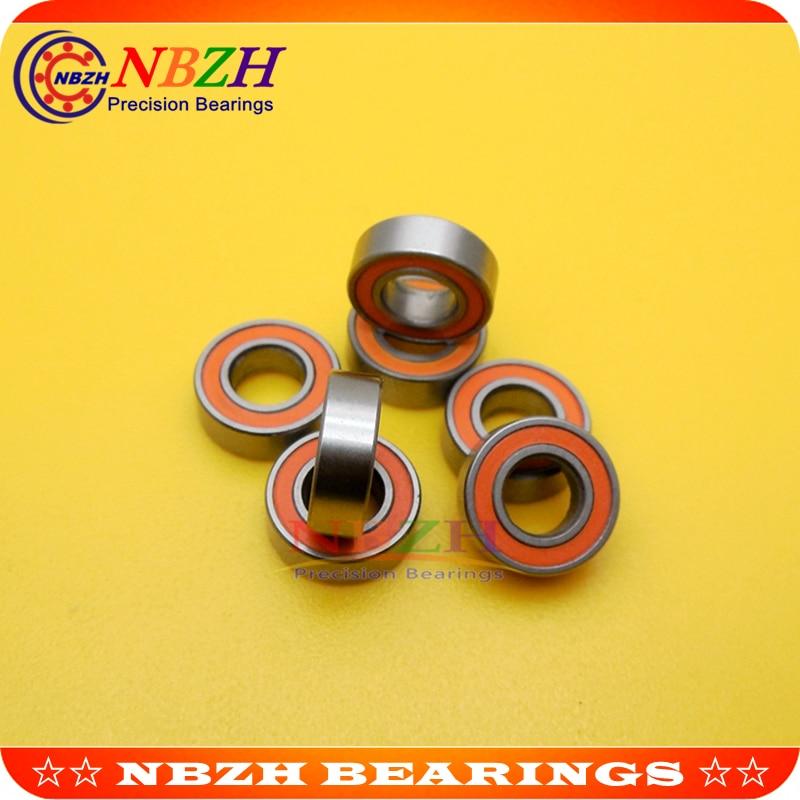 Free shipping 10PCS 3X10X4mm S623 2RS CB ABEC7 LD 3x10x4 Stainless steel