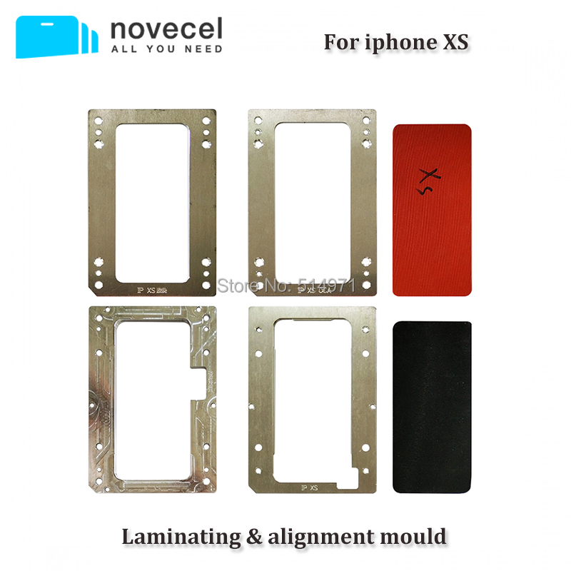 Novecel For iphone XS Laminating Mould and Alignment mould Compatible for YMJ Machine Q5 A5 Laminator LCD Screen LaminateNovecel For iphone XS Laminating Mould and Alignment mould Compatible for YMJ Machine Q5 A5 Laminator LCD Screen Laminate