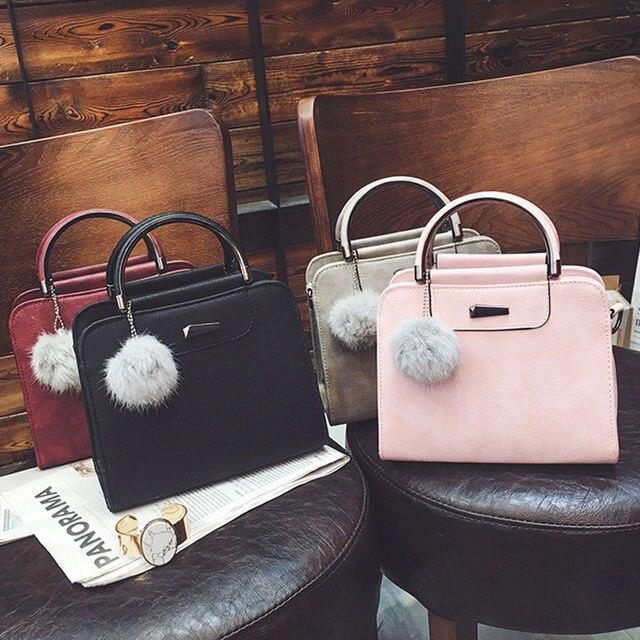 b39adc93b21b8 2019 New Style Fashion Women Ladies Crossbody PU Leather Shoulder Bag Tote  Purse Handbag With Tassel Satchel