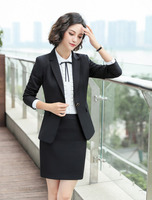 Formal Blazer Women Business Suit Slim Long Sleeve Jacket Suits Office Lady For Work Wear High Street Women Clothes Coat