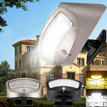 36LEDs Solar LED Lamp Outdoor PIR montion sensor solar light LED Landscape light solar Kitchen hallway цена