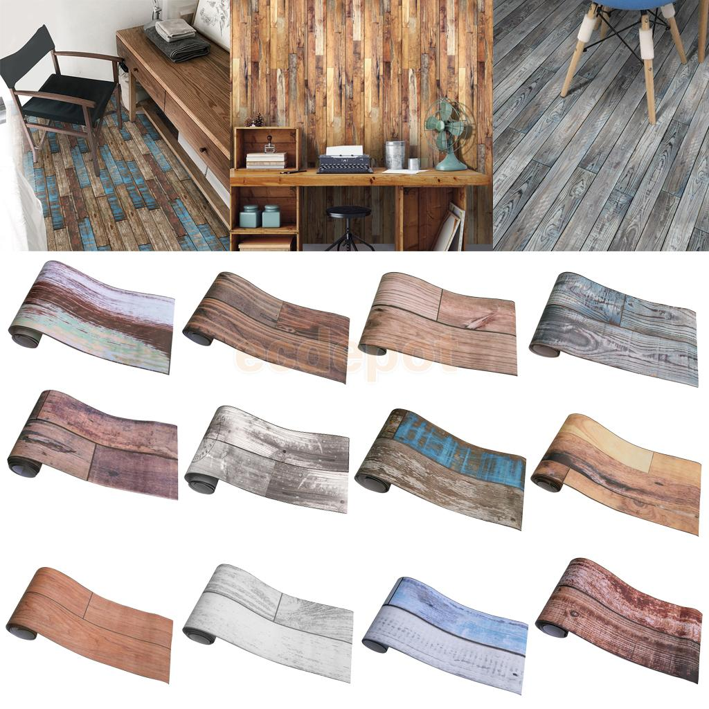 Goede Kopen Verwijderbare Lijm Houten Hout Muur Papier Decoratieve Tegel Stickers Voor Badkamer Slaapkamer Keuken Decoratie Goedkoop