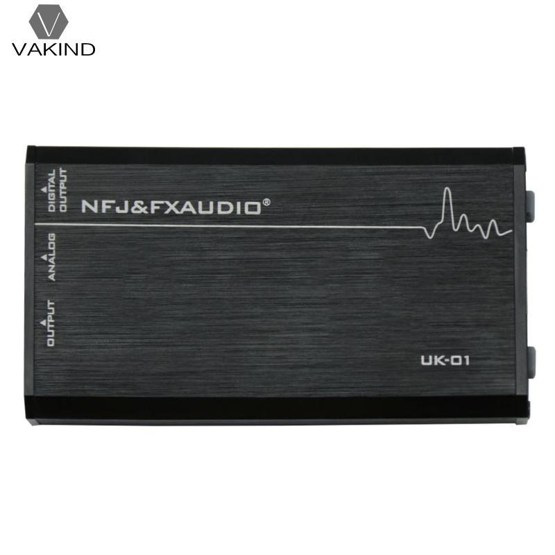 VAKIND Fx Audio UK-01 External USB Sound Card Independent Driveless Amp Output вольтметр vakind yb27a led ac60 300 2 tae 76553 01