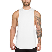 New Muscleguys No Pain Gain Bodybuilding Clothing Tank Top Men Fitness Singlets Sleeveless Shirt Solid Cotton Muscle Vest U