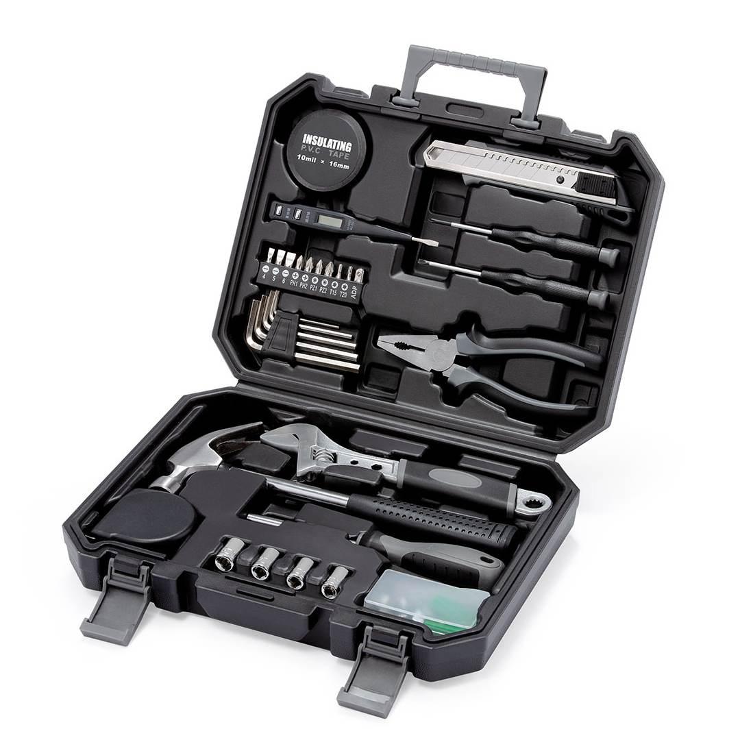 60 en 1 XIAOMI clé marteau tournevis règle pince coupante numérique stylo outils Kit pour voiture maison en plein air outils de réparation d'urgence