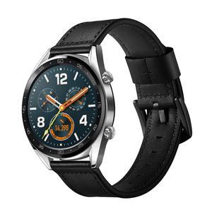Image 3 - 22 مللي متر الذكية ساعة رياضية مع جلدية استبدال حزام ساعة اليد ل سماعة هواوي غرامة الملمس ، قوي ودائم الجلود حزام