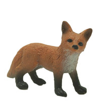The Simulation Model Of Ornaments Animal Toy Animal Fox Cartoon Pet Fox Gift(China)