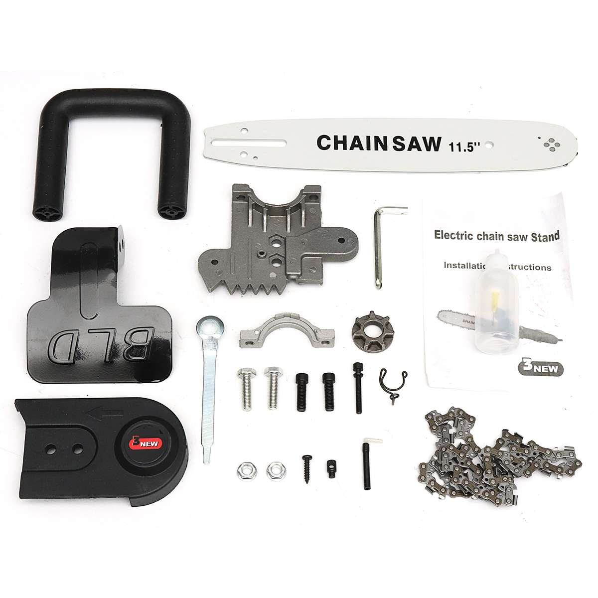 Electric Saw  Chainsaw Bracket Parts Changed 100mm/115mm Angle Grinder Upgrade  Chain Saw ToolsElectric Saw  Chainsaw Bracket Parts Changed 100mm/115mm Angle Grinder Upgrade  Chain Saw Tools
