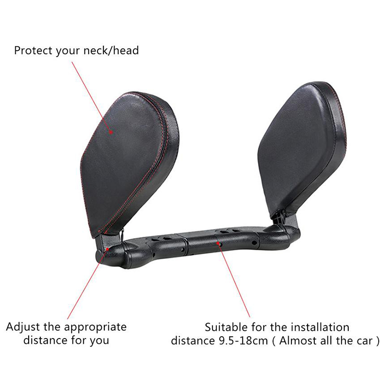 Image 5 - Car Seat Headrest Travel Rest Neck Pillow Support Solution For Kids And Adults Children Auto Seat Head Cushion Car Pillow-in Neck Pillow from Automobiles & Motorcycles