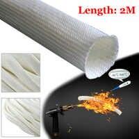 Offre spéciale tuyau d'échappement en fibre de verre isolation pour Webasto Eberspacher 22mm 24mm 2M tuyau d'échappement en fibre de verre