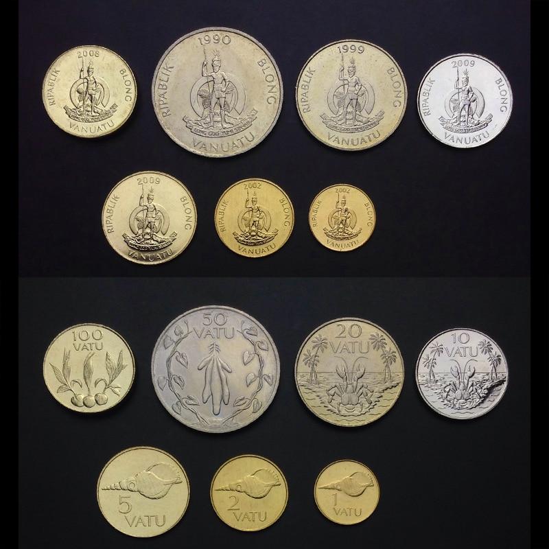Tanzania Set 5 Coins T-4 5 10 20 50 Cents 1 Shillingi Animal Original UNC