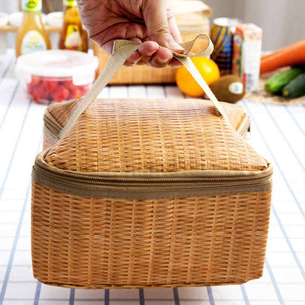 Novo Saco de Almoço Mais Frio Bolsa Cesta de Piquenique Isolados Saco do Piquenique Fresco À Prova de Choque