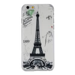 Black Hard Cases Iphone Mobile Tower Ultra For 6Plus Thin Shock-proof Eiffel Phone White 1