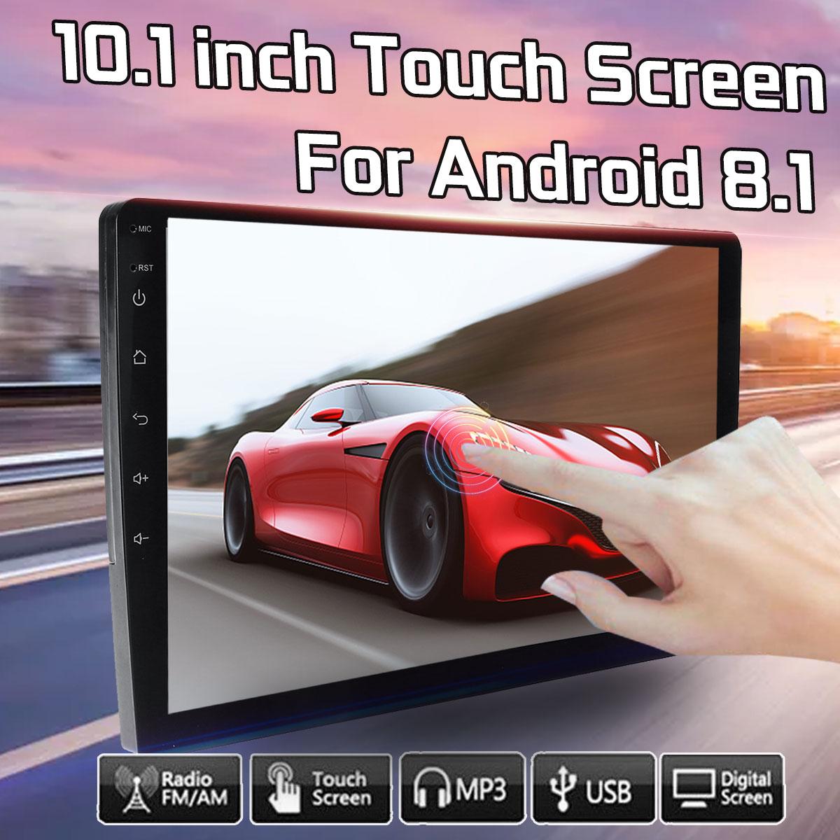 4K 10.1 Car MP5 Player Quad Core 2 DIN bluetooth FM Radio Android 8.1 WiFi GPS DVBT DAB Car Stereo Car Multimedia Player 1+16G4K 10.1 Car MP5 Player Quad Core 2 DIN bluetooth FM Radio Android 8.1 WiFi GPS DVBT DAB Car Stereo Car Multimedia Player 1+16G