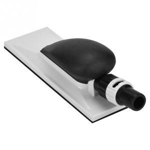 Image 3 - 1Pcs Schleif Block Hand Staub Extraktion Schleif Schwamm Block 20x7cm Staub Kostenloser Block Holzbearbeitung Schleifen Schleifstein polieren Pad