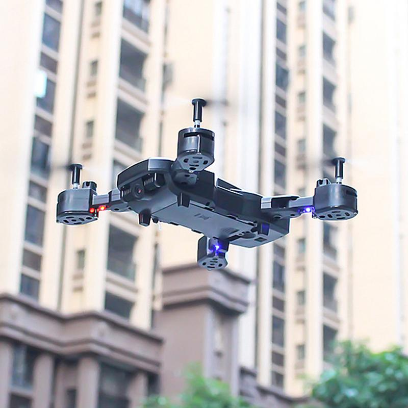 Folding Quadcopter Aircraft - Long Service Life Altitude Hold Drone Long-Time Real-Time Aerial Remote Control Aircraft
